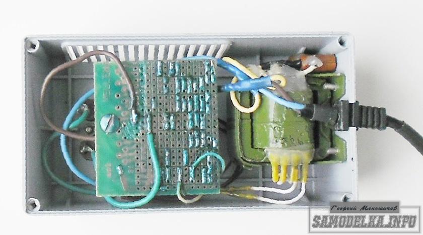внешний вид монтажа реле задержки включения холодильника