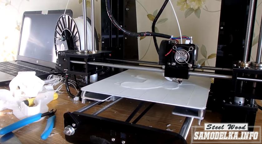 3D печать черепа тиранозвара