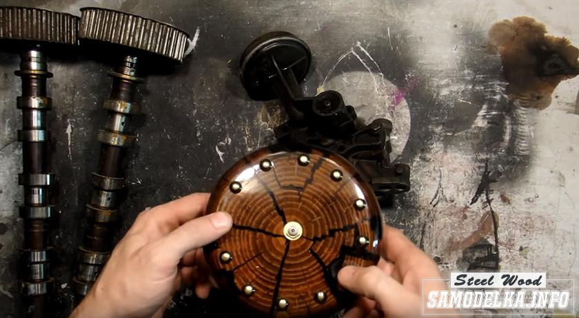 процесс изготовления часов своими руками