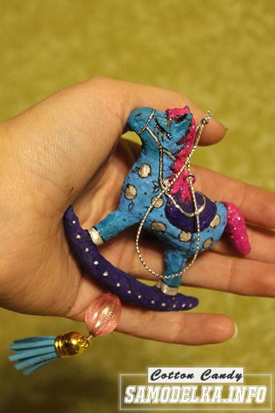 Ватные игрушки своими руками