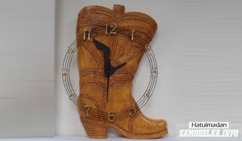 Сделай сам: Часы обувного магазина