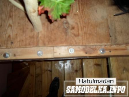 Винтовая лестница дачного домика своими руками