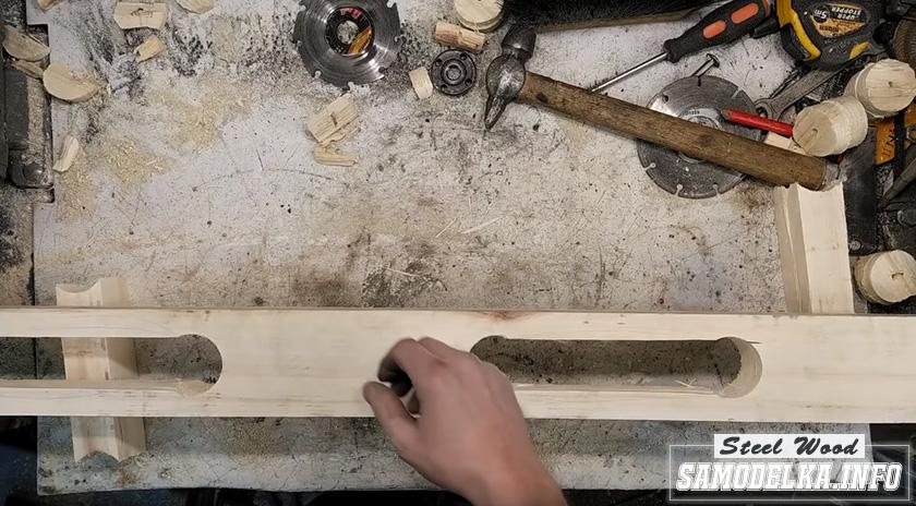процесс изготовления кухонного стола своими руками