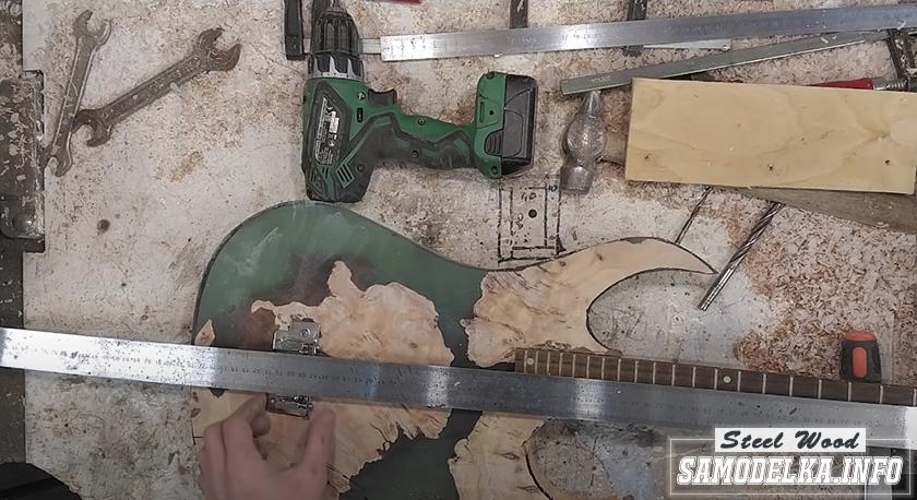 Процесс изготовления гитары
