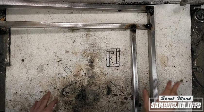 Процесс изготовления зеркала с подсветкой своими руками